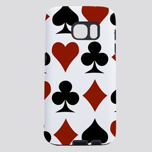 card-suits-multi Samsung Galaxy S7 Case