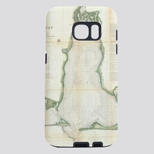 Vintage Map of Mobile Bay Samsung Galaxy S7 Case