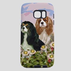 cavaliers in the garden Samsung Galaxy S7 Case