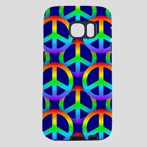 Rainbow Peace Sign Samsung Galaxy S7 Case