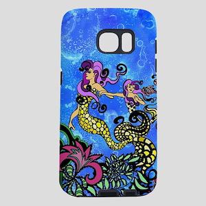 Mermaid Sisters Samsung Galaxy S7 Case