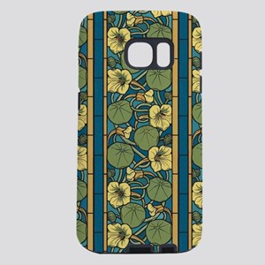 Blue and Yellow Floral Nou Samsung Galaxy S7 Case