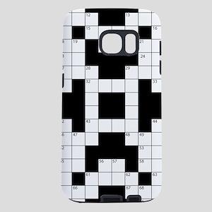 Crossword Pattern Decorati Samsung Galaxy S7 Case