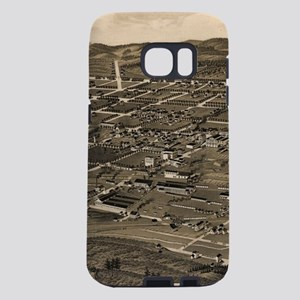 Vintage Pictorial Map of A Samsung Galaxy S7 Case