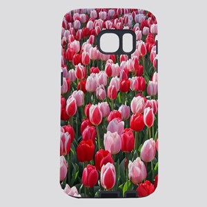 Red & Pink Tulips Holland Samsung Galaxy S7 Case