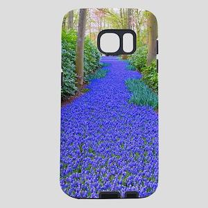 Grape Hyacinth Path Samsung Galaxy S7 Case