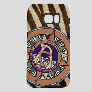 AC Retro Logo + Zebra Samsung Galaxy S7 Case