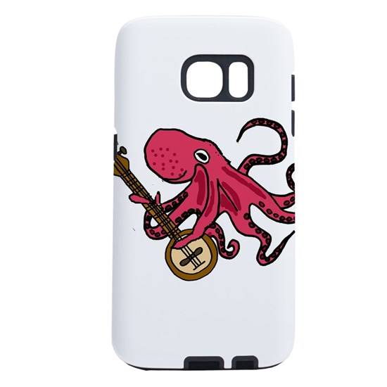 Octopus Playing Banjo