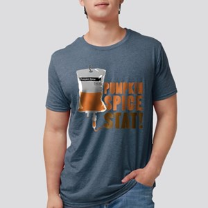 IV Pumpkin Spice Stat Mens Tri-blend T-Shirt
