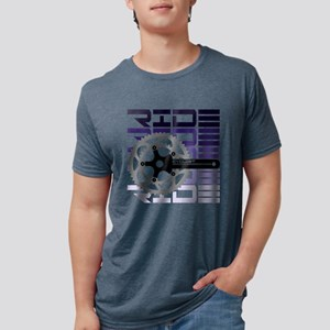 cycling-02 Mens Tri-blend T-Shirt