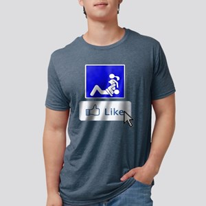 eat pussy Mens Tri-blend T-Shirt