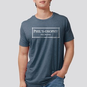 Modern Family Phil's-osophy Mens Tri-blend T-Shirt