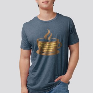Star Trek Janeway Coffee Mens Tri-blend T-Shirt