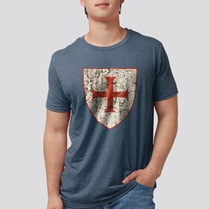 Templar Cross, Shield T-Shirt