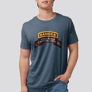 LRS 82nd ABN with Ranger Tab Mens Tri-blend T-Shir