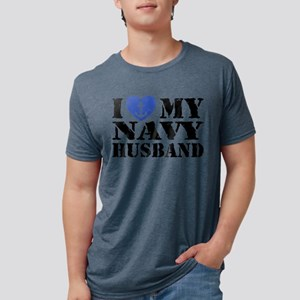 navyHusband52 Mens Tri-blend T-Shirt