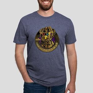 9c2538d67 Avenger Infinity War Gold G Mens Tri-blend T-Shirt