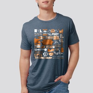 Friends Collage Mens Tri-blend T-Shirt