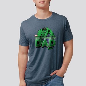 9ed57703 Marvel Fathers Day. IncredibleDad Mens Tri-blend T-Shirt