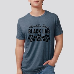 Worlds Best Black Lab Dad T-Shirt