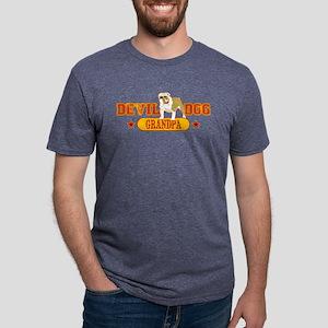grandpa Mens Tri-blend T-Shirt