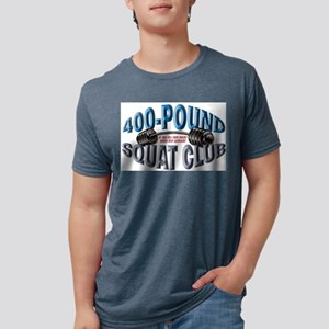 SQUAT 400 CLUB! Ash Grey T-Shirt