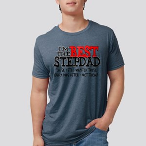 Best Stepdad Mens Tri-blend T-Shirt
