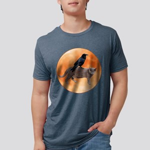 Cat Raven Moon T-Shirt