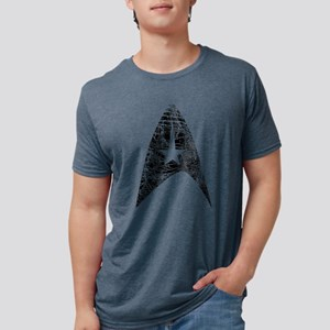 Vintage Star Trek Insignia Mens Tri-blend T-Shirt