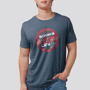 Books And Cats T Shirt T-Shirt