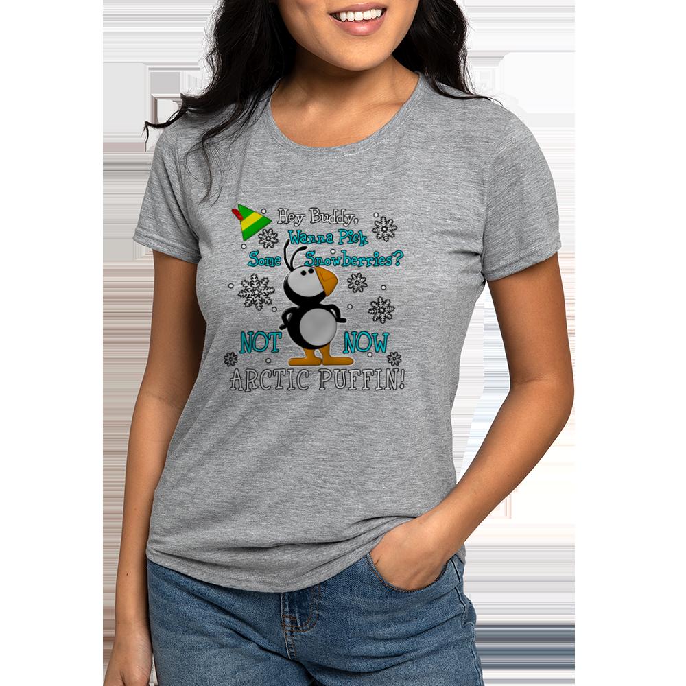 Elf Movie Penguin Tri Blend T-shirt