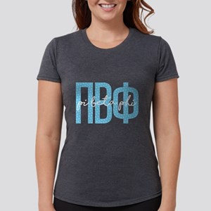 Pi Beta Phi Polka Dots Womens Tri-blend T-Shirts