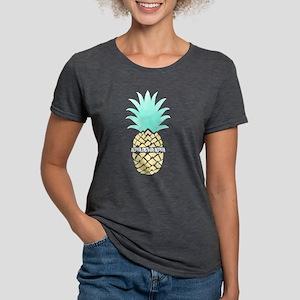 Alpha Sigma Alpha Pineap Womens Tri-blend T-Shirts