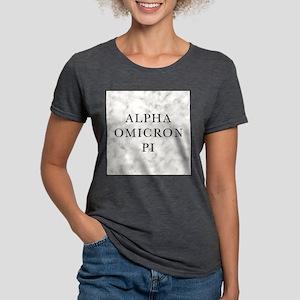 Alpha Omicron Pi Marble Womens Tri-blend T-Shirt