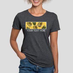 Alpha Xi Delta Pineapples Womens Tri-blend T-Shirt