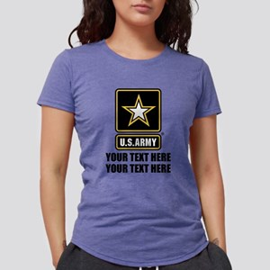 CUSTOM TEXT U.S. Army Womens Tri-blend T-Shirt