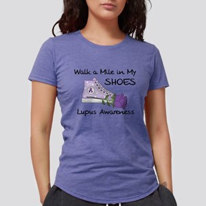 Walk a Mile in My Shoes Lupus T-Shirt
