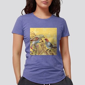 Pretty Birds Womens Tri-blend T-Shirt