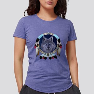 Dream Wolf Womens Tri-blend T-Shirt
