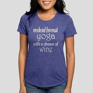 eb70bc884 Yoga and Wine Women's Dark T-Shirt