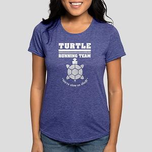 8954b69ff Turtle running team slow as shell T-shirt T-Shirt