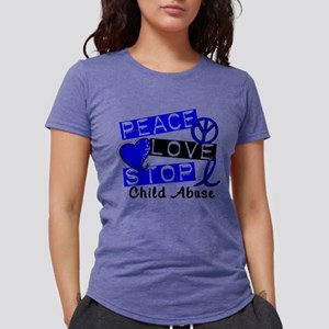 Peace Love Stop Child Abuse 1 T-Shirt