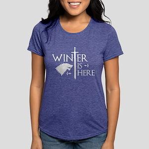 Winter Is Here Women's Dark T-Shirt