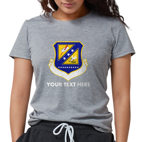 Personalized USAF 310th S Womens Tri-blend T-Shirt