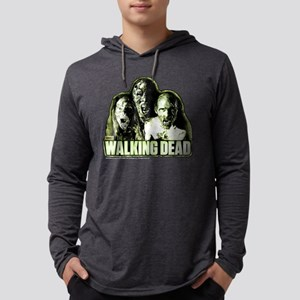 3zombies-10x10REV Mens Hooded Shirt