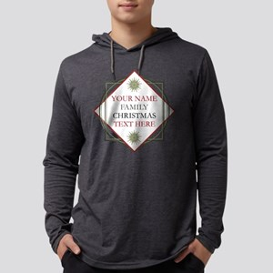 Family Christmas Personalized Mens Hooded Shirt
