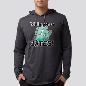 Melanoma BITES Mens Hooded Shirt