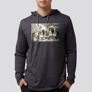 The happy family - 1874 Mens Hooded Shirt