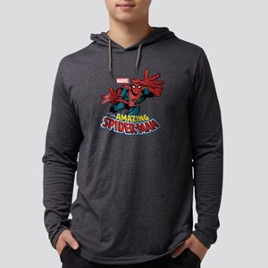 The Amazing Spider-Man Mens Hooded Shirt