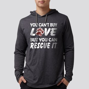 Rescue the Love Mens Hooded Shirt